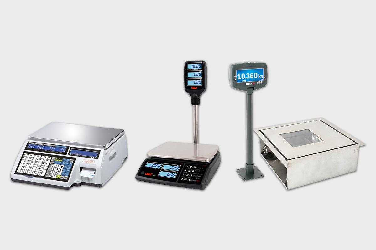Różne rodzaje wag elektronicznych